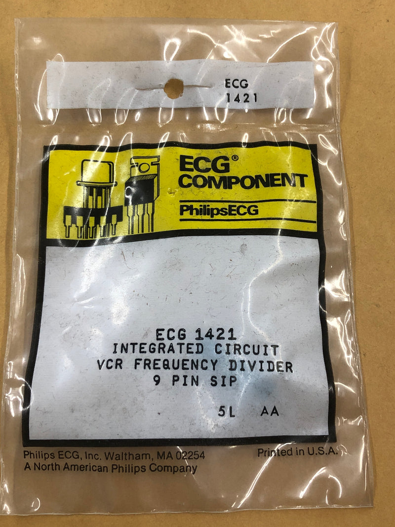 ECG1421 IC FREQUENCY DIVIDER