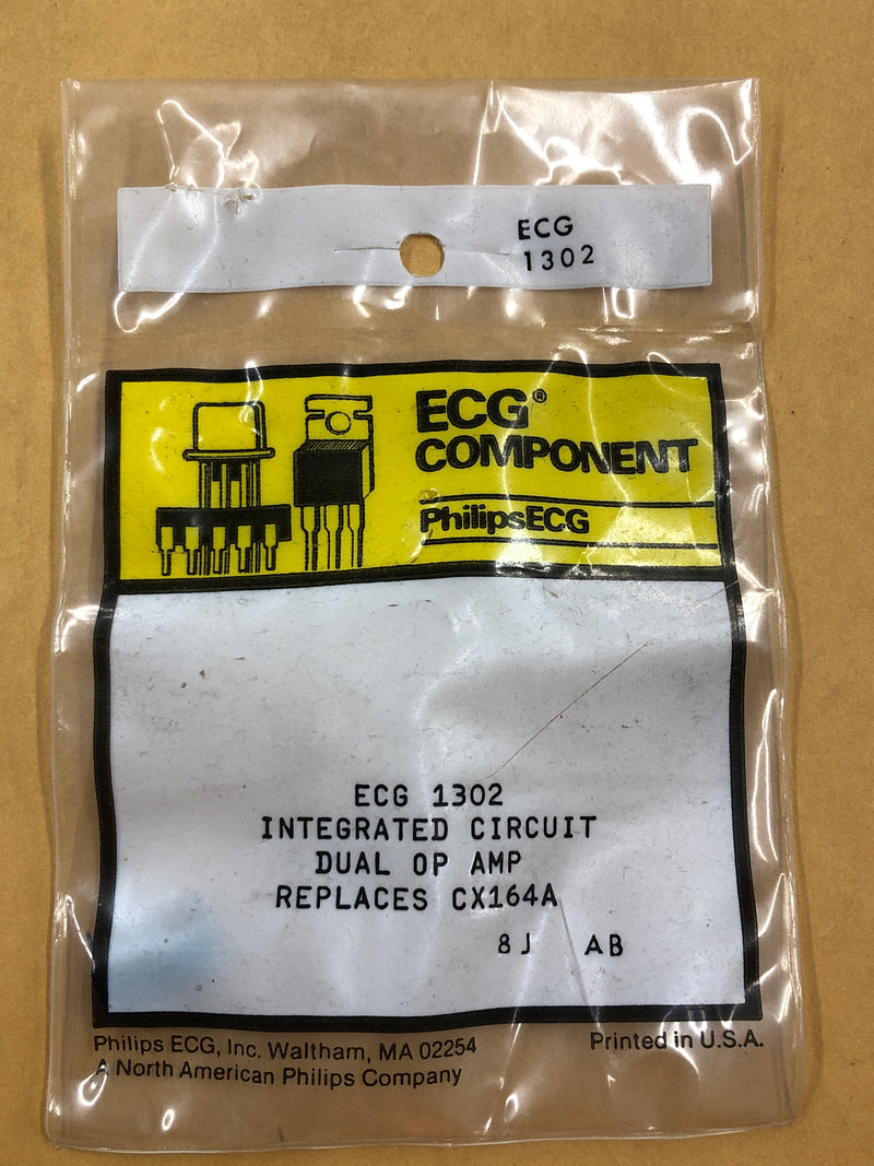 ECG1302 IC Audio Preamplifier