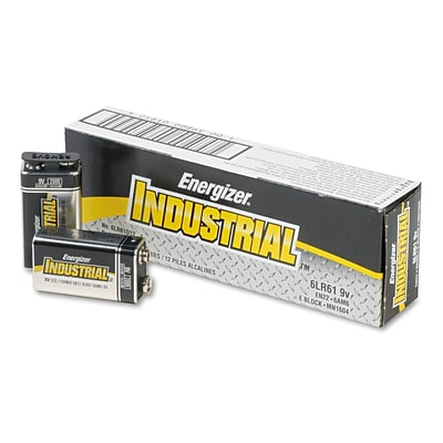 9V  Industrial Batteries 12pk EN22