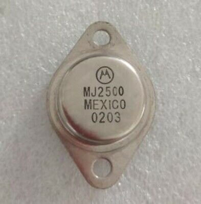 Motorola Silicon complementary transistor MJ2500 (246)