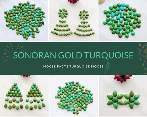 Moose Fact: Sonoran Gold Turquoise And Its Origin