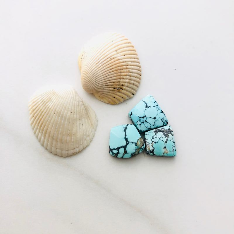 Small Mix Yungai Turquoise, Set of 3