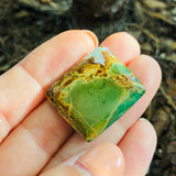 Medium Square Crescent Lake Variscite