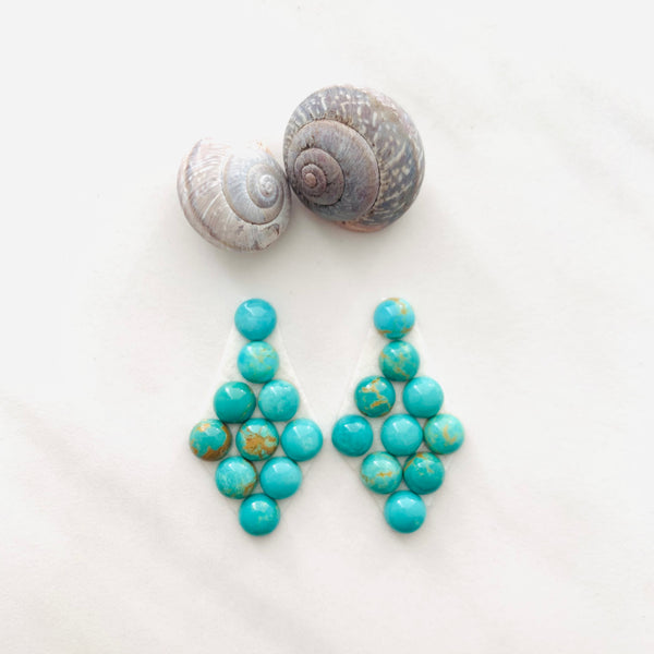 Design-ready Presets - Tyrone Turquoise Earrings