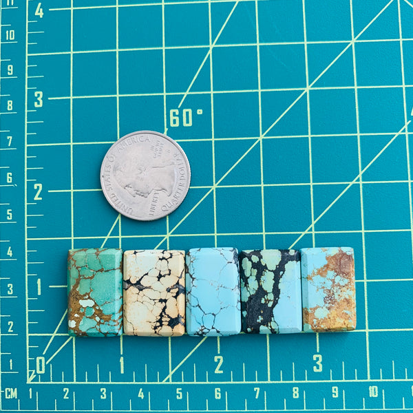 Medium Mixed Bar Mixed, Set of 5 Dimensions