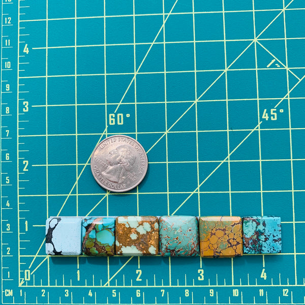 Medium Mixed Bar Mixed, Set of 6 Dimensions