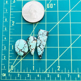 Small Mix Treasure Mountain Turquoise, Set of 3