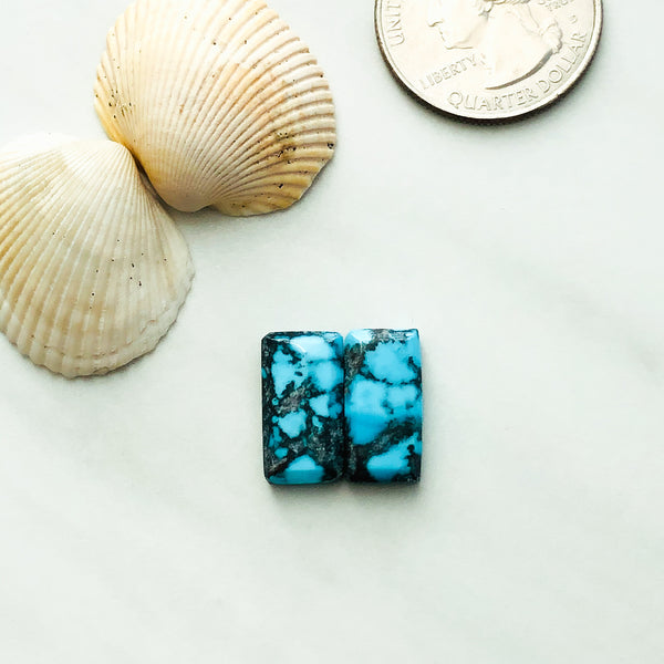 Small Bar Yungai Turquoise, Set of 2