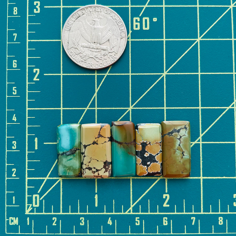 Small Mixed Bar Mixed, Set of 5 Dimensions