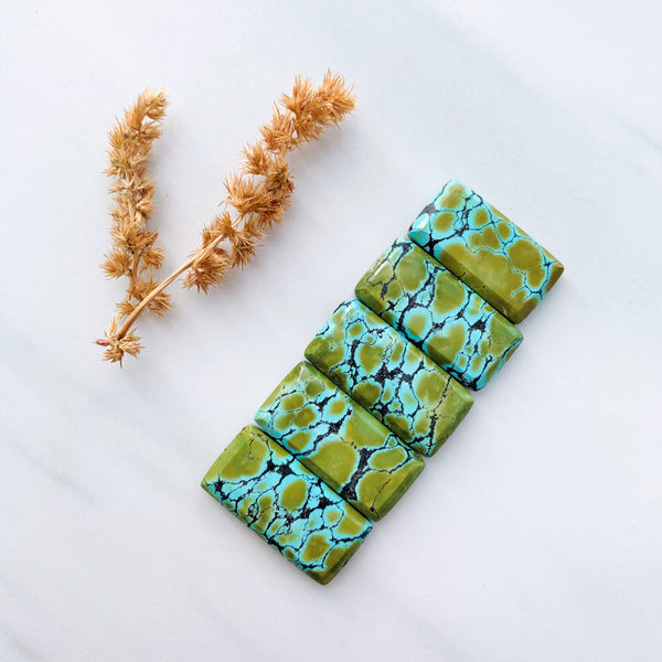 Medium Sea Green Bar Giraffe, Set of 5 Background