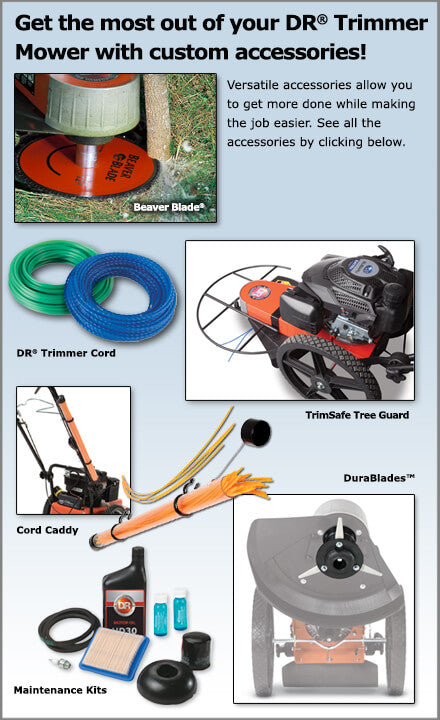 DR Trimmer/Mower Acessories