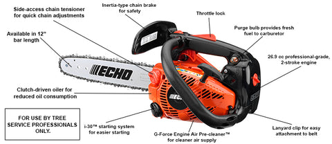 "Echo CS-271T 12"" Chainsaw"