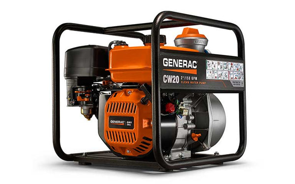 "2"" Clean Water Pump - Generac CW20 6918"
