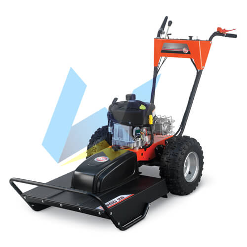 DR Field and Brush Mower PRO-26, 10.5 HP Manual-Start FBM10AMN