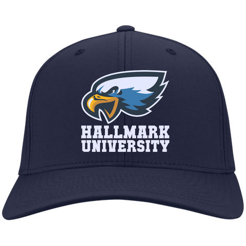 HU Eagles Port Authority Flex Fit Twill Baseball Cap