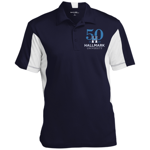 HU 50th Sport-Tek Men's Colorblock Performance Polo