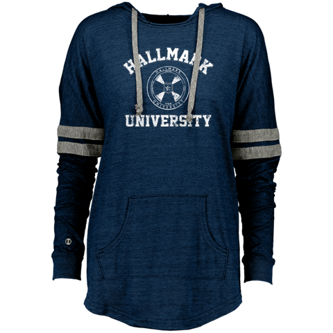 HU Women's Hooded Low Key Pullover