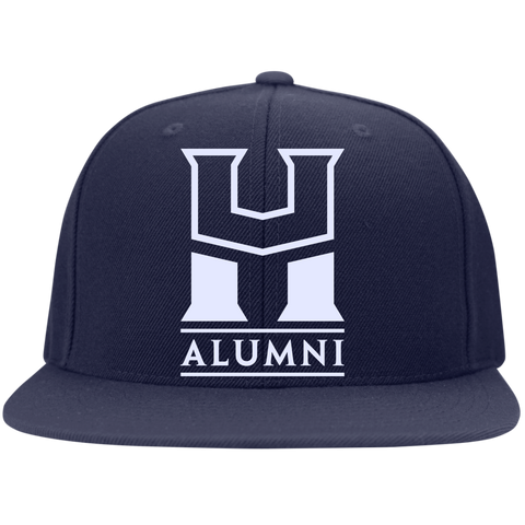 HU Alumni Sport-Tek Flat Bill High-Profile Snapback Hat