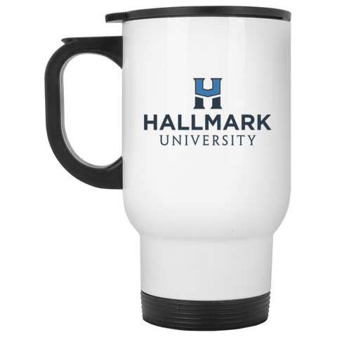 Hallmark University White Travel Mug