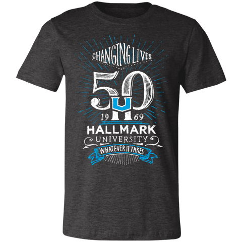 HU 50th Unisex Jersey Short-Sleeve T-Shirt