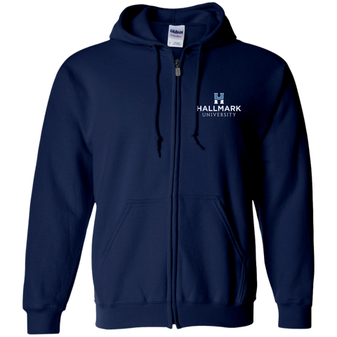 Hallmark University Zip Up Hooded Sweatshirt