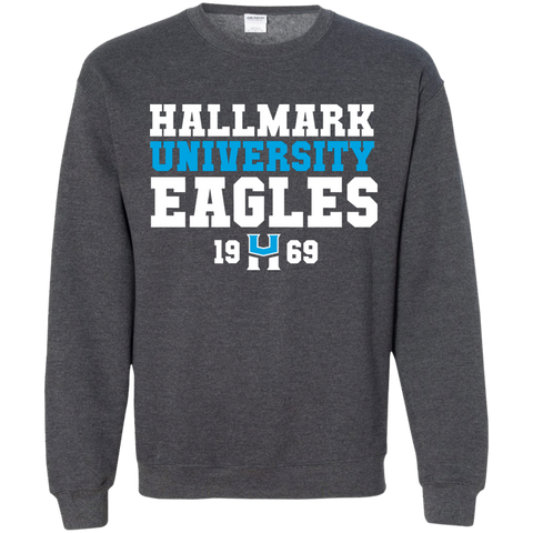 HU Eagles Crewneck Pullover Sweatshirt