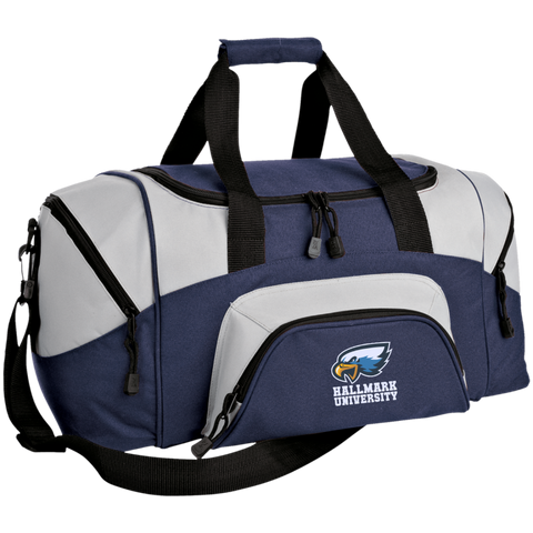 HU Eagles Port & Co. Small Colorblock Sport Duffel Bag