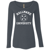 Hallmark University Ladies' Long Sleeve Scoop