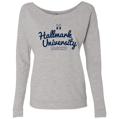 HU Script Alumni Ladies' French Terry Scoop