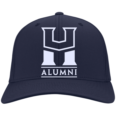 HU Alumni Port Authority Flex Fit Twill Baseball Cap