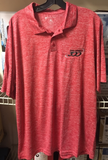 Columbia 300 Bowling Polo Red XL New