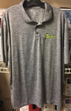 Track Bowling Polo Grey XL New