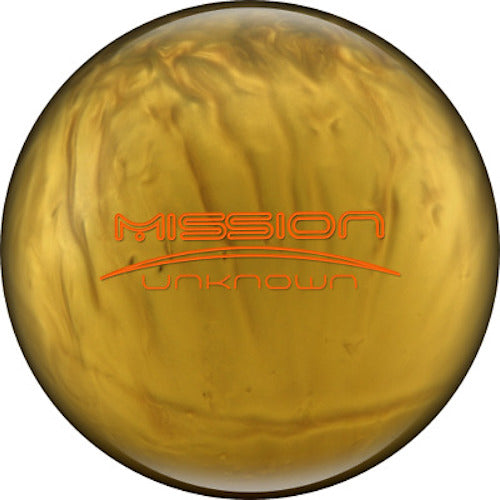 Ebonite Mission Unknown Gold 15 lbs NIB