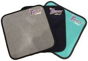 Track Microfiber Shammy Pad Red/White
