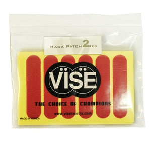 "Vise Hada Patch Pre-Cut Red (#2) - 1/2"" - 60 Pieces (2 Rolls)"