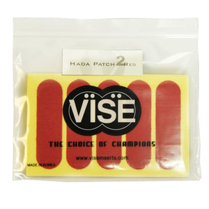 "Vise Hada Patch Pre-Cut Red (#2) - 3/4"" - 50 Pieces (2 Rolls)"