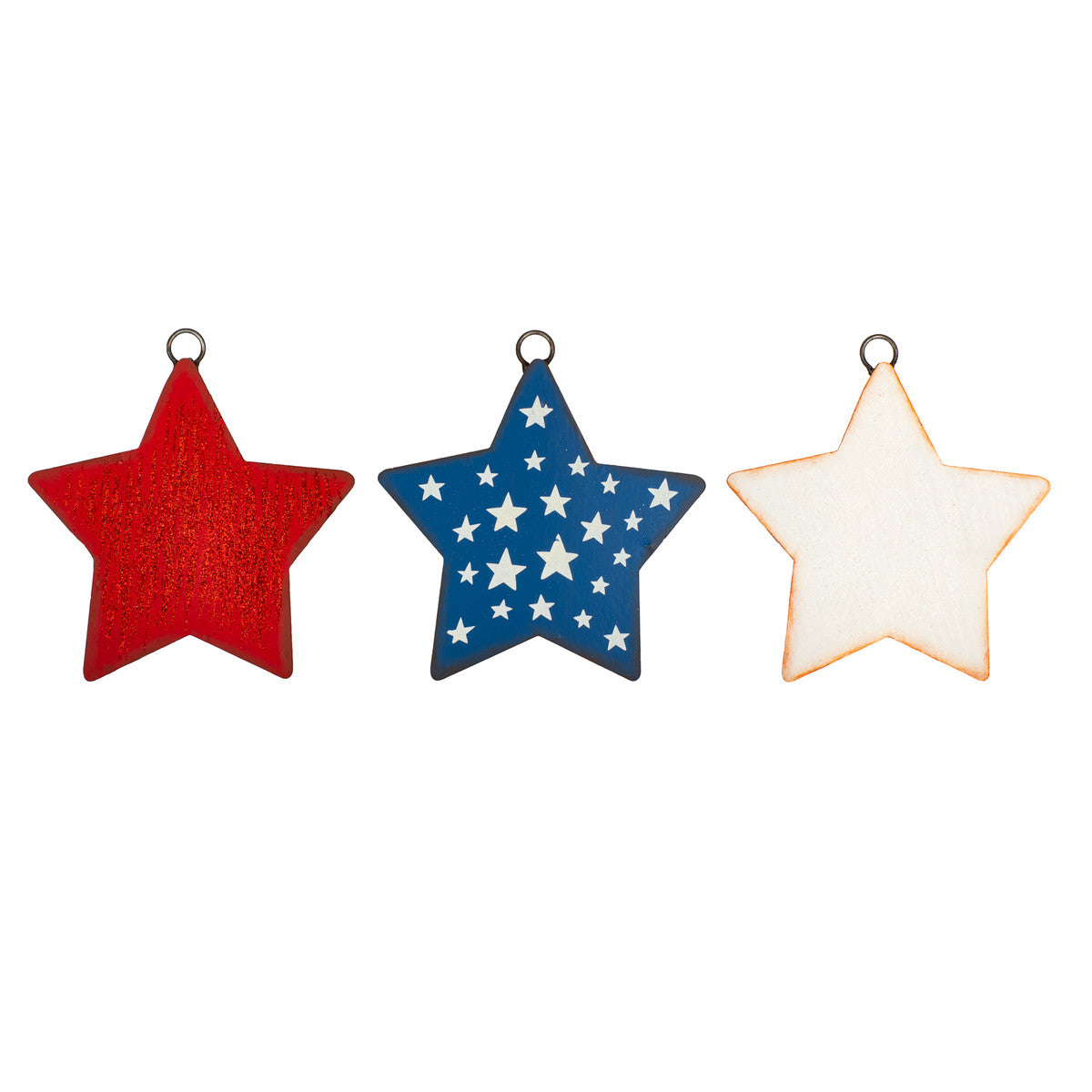 Mini Gallery Americana Star Charm Trio