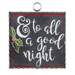 "Mini Gallery ""To All a Good Night"""