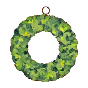 MINI GALLERY BOXWOOD WREATH CHARM