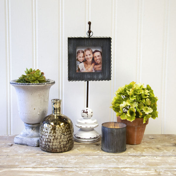 Mini Gray Photo Frame