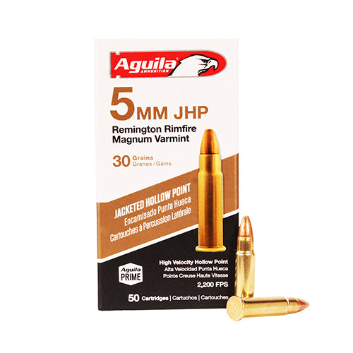 Aguila  5mm Remington Magnum - RTP Armor