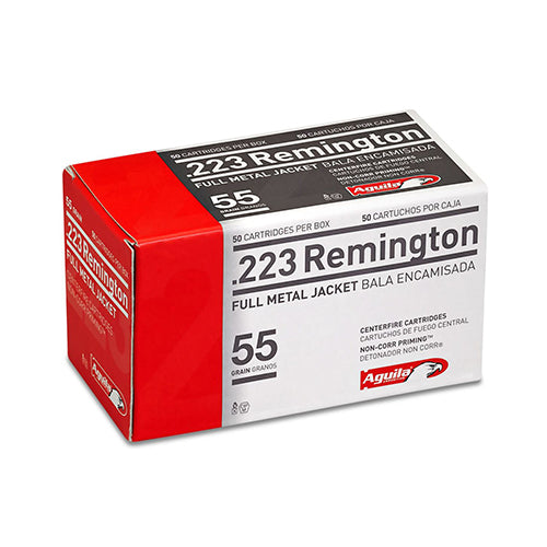 Aguila  .223 Remington 55 Grains Full Metal Jacket Per 50 - RTP Armor