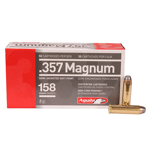 Aguila  .357 Magnun 158 Grains Semi Jacketed Soft Point Per 50 - RTP Armor