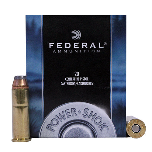 Federal Cartridge 41 Remington Magnum Power-Shok Hunting 210 Grain Jacketed Hollow Point Per 20 - RTP Armor