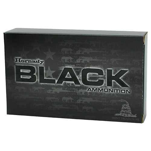 Hornady 6.5 Grendel Black Ammunition 123 Grains ELD Match Per 20 - RTP Armor