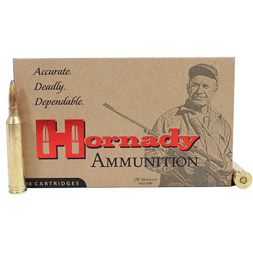 Hornady 264 Winchester Mag Custom Ammunition 140 Grains Interlock Spire Point Per 20 - RTP Armor
