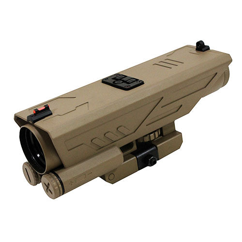 Delta 4X30 Scope/P4 Sniper Ret/Green Lens - RTP Armor