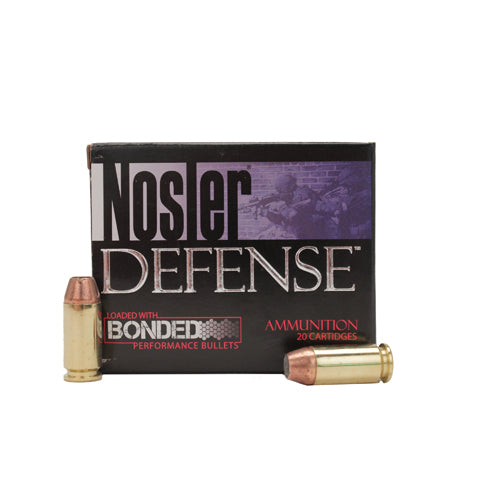 Nosler 40 Smith & Wesson Ammunition - RTP Armor