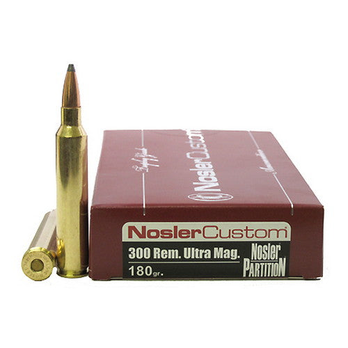 Nosler 300 Remington Ultra Magnum Ammunition - RTP Armor
