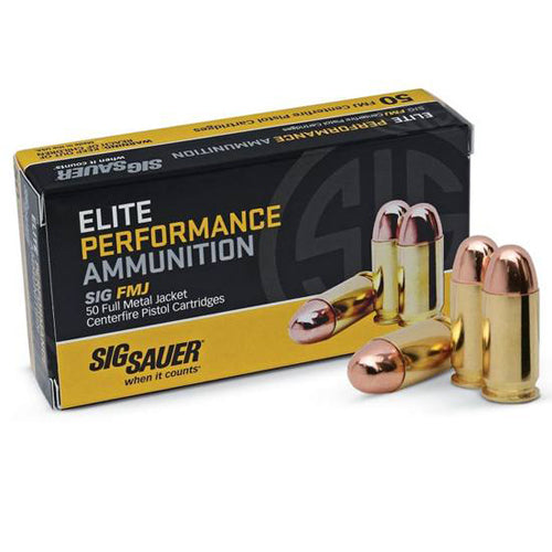 Sig Sauer Elite Performance Ammunition - RTP Armor